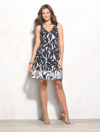 Floral Dress by BEYOND by Ashley Graham at Dressbarn