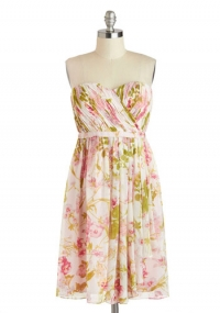 Floral Flair Dress at ModCloth