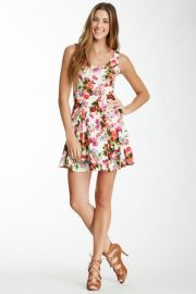 Floral Flippy Dress by Soprano at Nordstrom Rack