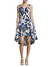 Floral Hi-Lo Dress  Eliza J at Lord & Taylor