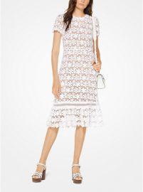 Floral Lace Dress at Michael Kors