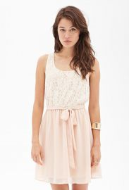 Floral Lace Tea Dress at Forever 21