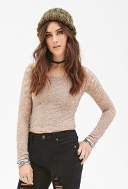 Floral Lace Top  Forever 21 - 2000082854 at Forever 21