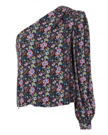 Floral One Shoulder Top at Intermix