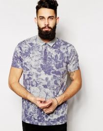 Floral Polo at Asos