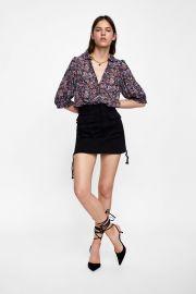 Floral Print Blouse by Zara at Zara