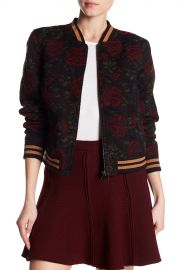 Floral Print Bomber Jacket by Sanctuary at Nordstrom Rack
