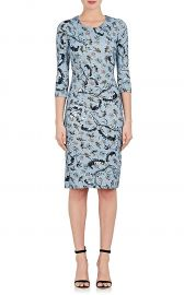 Floral-Print Jersey Dress by Erdem at Barneys