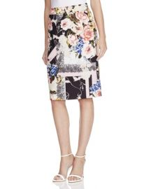 Floral Print Pencil Skirt by Basler at Bloomingdales