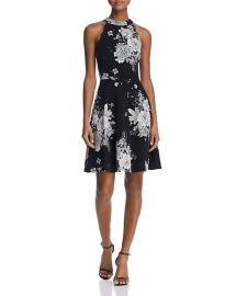 Floral Scalloped Dress at Bloomingdales