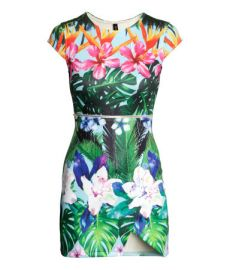 Floral Scuba Dress at H&M