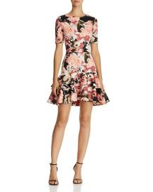 Floral Tiered-Hem Dress by Aqua at Bloomingdales