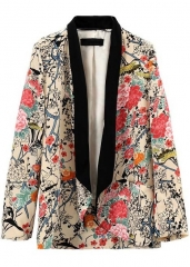 Floral blazer at She Inside