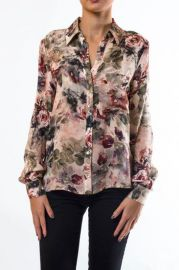 Floral blouse by Haute Hippie at Shoptiques