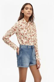 Floral bow blouse at French Connection