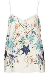 Floral cami at Topshop