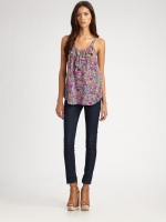 Floral camisole by Rebecca Taylor at Saks Fifth Avenue