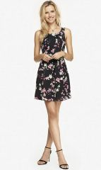 Floral dress at Express
