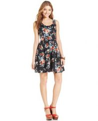 Floral dress by Jessica Simpson at Macys