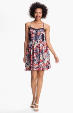 Floral fit and flare dress by Betsey Johnson at Nordstrom