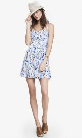 Floral print cami sundress at Express