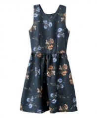 Floral print dress at Chic Nova
