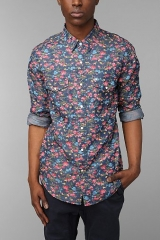 Floral shirt by Salt Valley at Urban Outfitters