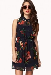 Floral shirtdress at Forever 21