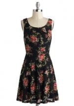 Floral tank dress from Modcloth at Modcloth