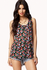 Floral tank top at Forever 21
