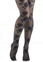 Floral tights like Blairs at Modcloth