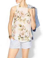 Floral top by Haute Hippie at Piperlime