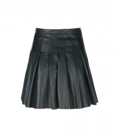 Flore Leather Skirt at All Saints