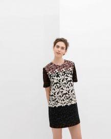 Flower Print Dress at Zara