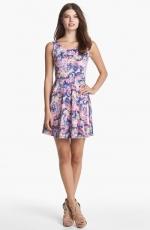 Flower print dress at Nordstrom at Nordstrom