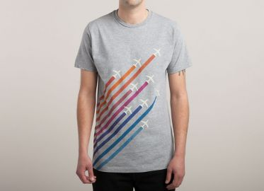Flying Colors Tee at Threadless