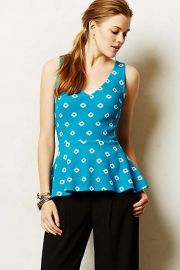 Flynn Peplum Tank at Anthropologie