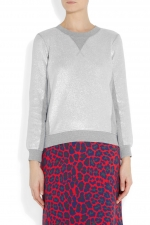 Foil print sweatshirt by Marc by Marc Jacobs at Net A Porter