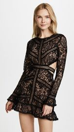 For Love  amp  Lemons Emerie Cutout Dress black at Shopbop