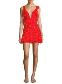 For Love   Lemons - Analisa Polka Dot Dress at Saks Fifth Avenue