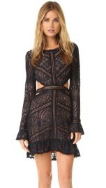 For Love  amp  Lemons Emerie Cutout Dress at Shopbop