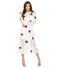 For Love and Lemons La Zosia Midi Dress at Zappos
