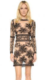 For Love andamp Lemons Desert Nights Mini Dress in Black at Shopbop