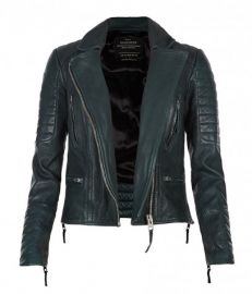 Forest Leather Biker Jacket at All Saints