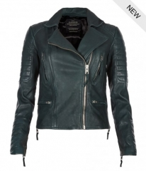 Forest Leather Jacket at All Saints