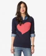 Forever 21 Heart sweater at Forever 21