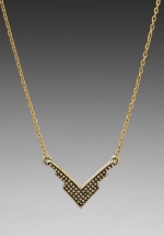 Fortunes fool necklace by Vanessa Mooney at Revolve