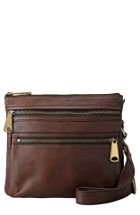 Fossil and39Explorerand39 Crossbody Bag in Espresso at Nordstrom