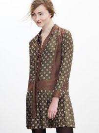 Foulard Silk Bow Dress at Banana Republic