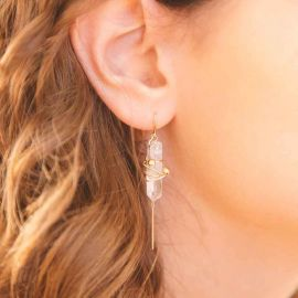 Fountain of Youth Earrings at Katie Dean Jewelry